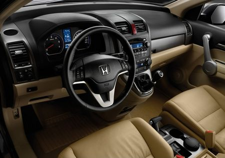 honda cr-v salon