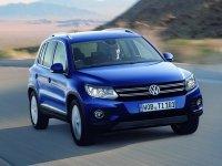 Рестайлинговая модель Volkswagen Tiguan