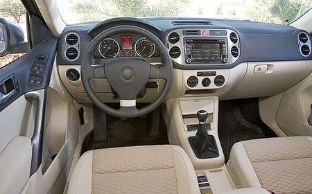 Volkswagen Tiguan_интерьер