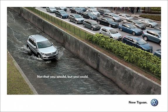 Реклама Volkswagen Tiguan