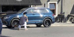 Первая фотография обновленного Volkswagen Tiguan
