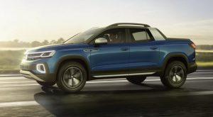 Volkswagen готовит пикап на основе кроссовера Tiguan
