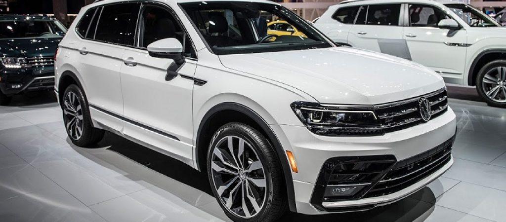VW Tiguan вошел в тройку самых популярных кроссоверов на российском рынке
