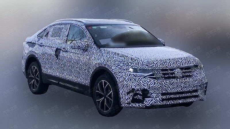 Volkswagen обкатывает купеобразную версию кроссовера Tiguan