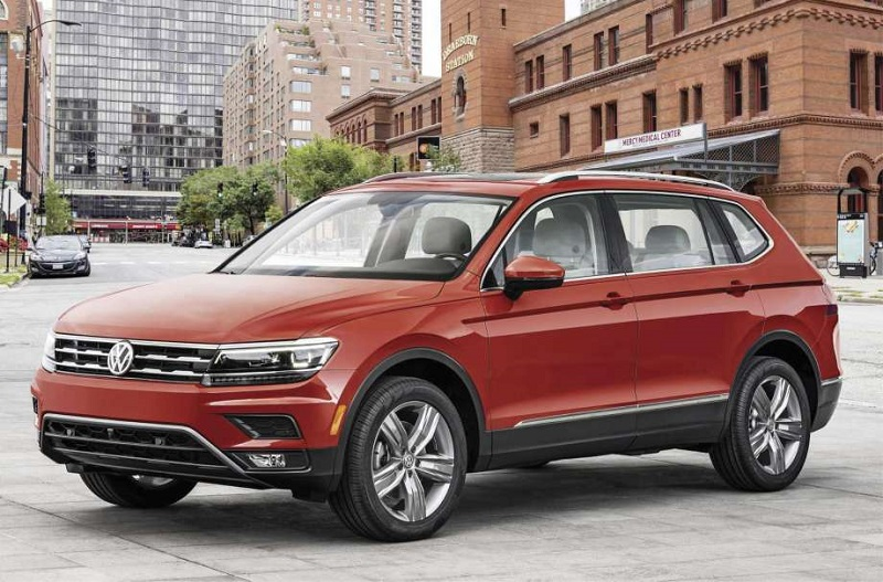 Volkswagen Tiguan — в пятерке самых популярных кроссоверов в России