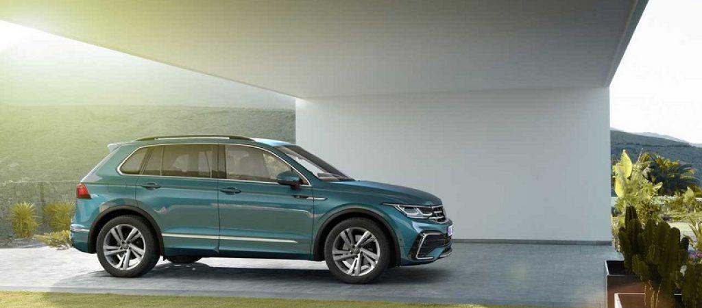 Volkswagen официально анонсировал кроссовер Tiguan нового поколения