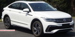 В сети появились новые снимки спортивного кросс-купе VW Tiguan X