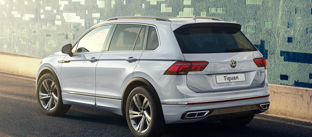 Volkswagen опубликовал цены на новый Tiguan