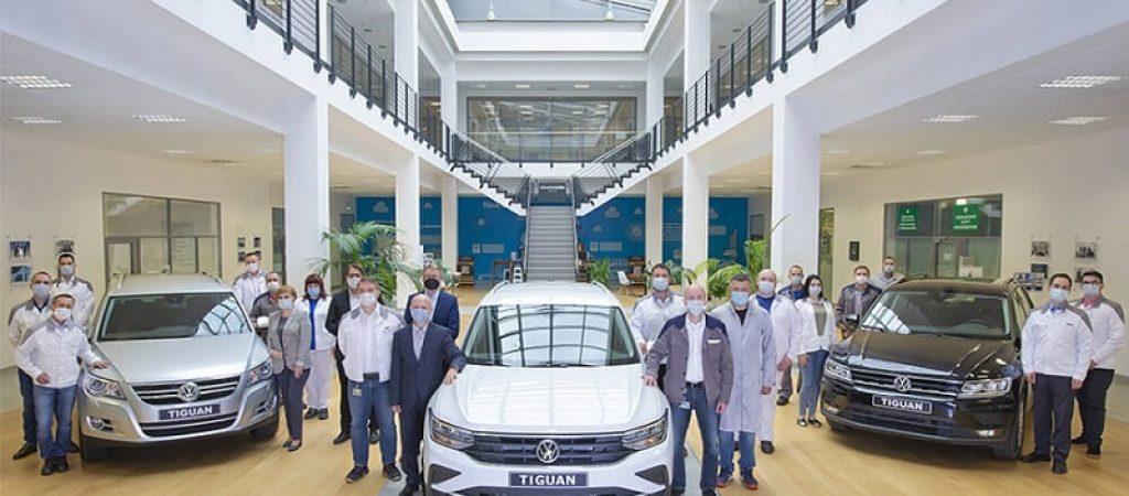 Производство VW Tiguan в России достигло отметки в 300 000 автомобилей